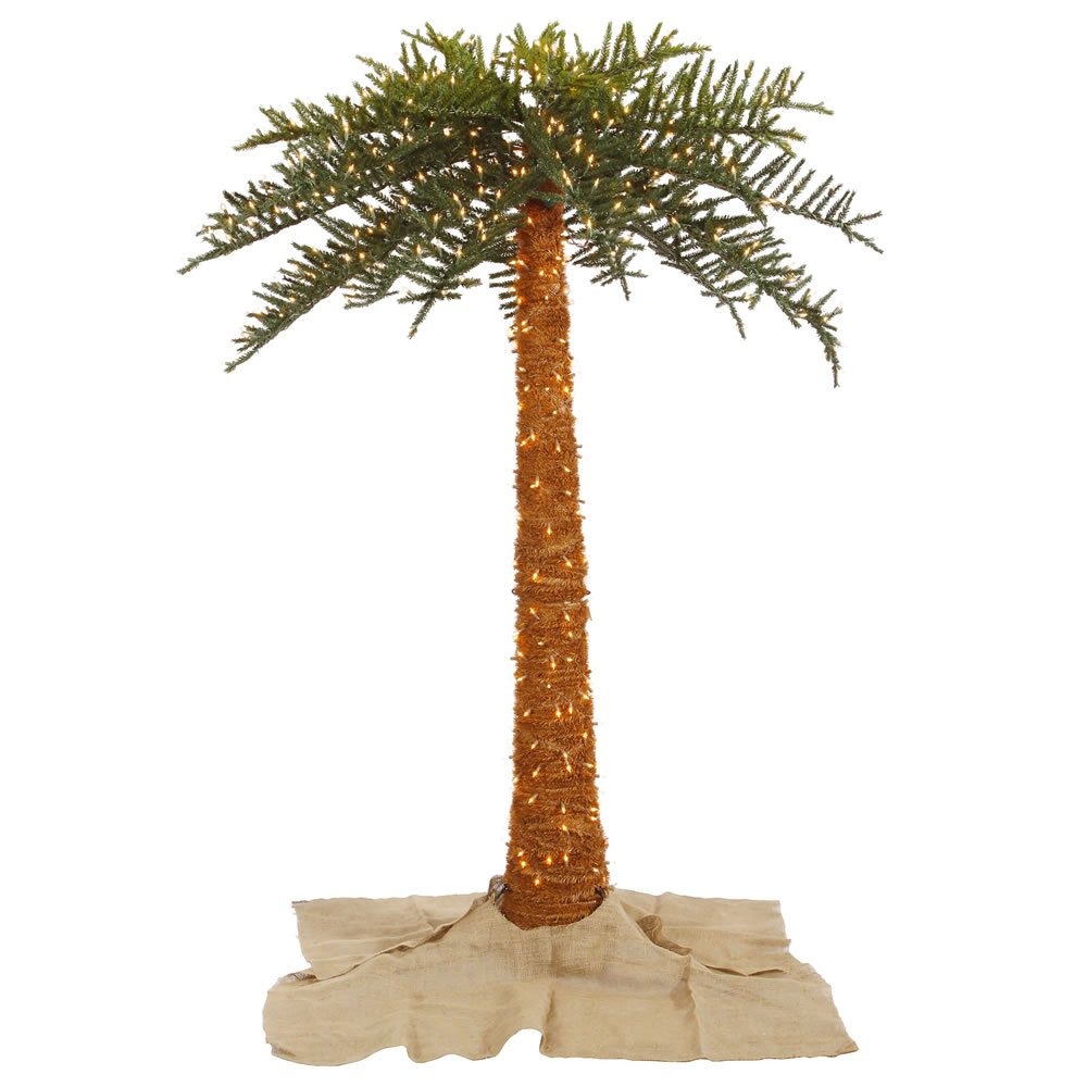 Amazon.com: Vickerman 10' Outdoor Royal Palm with 1100 Clear ...