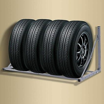 Soporte de neumáticos Neumáticos soporte soporte de pared auto neumáticos de pared de acero 30 cm