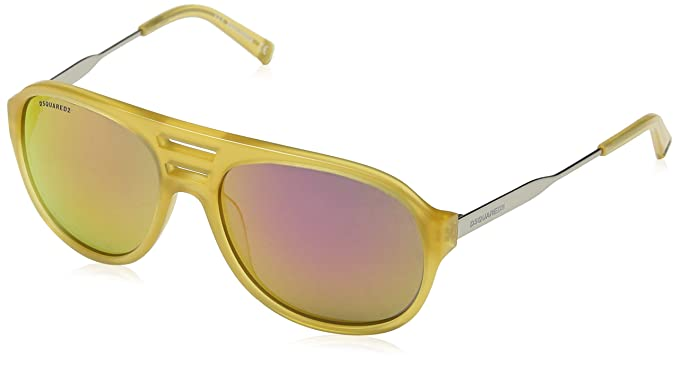 DSQUARED2 Sonnenbrille Dq0185 39z 58 Gafas de sol, Amarillo ...