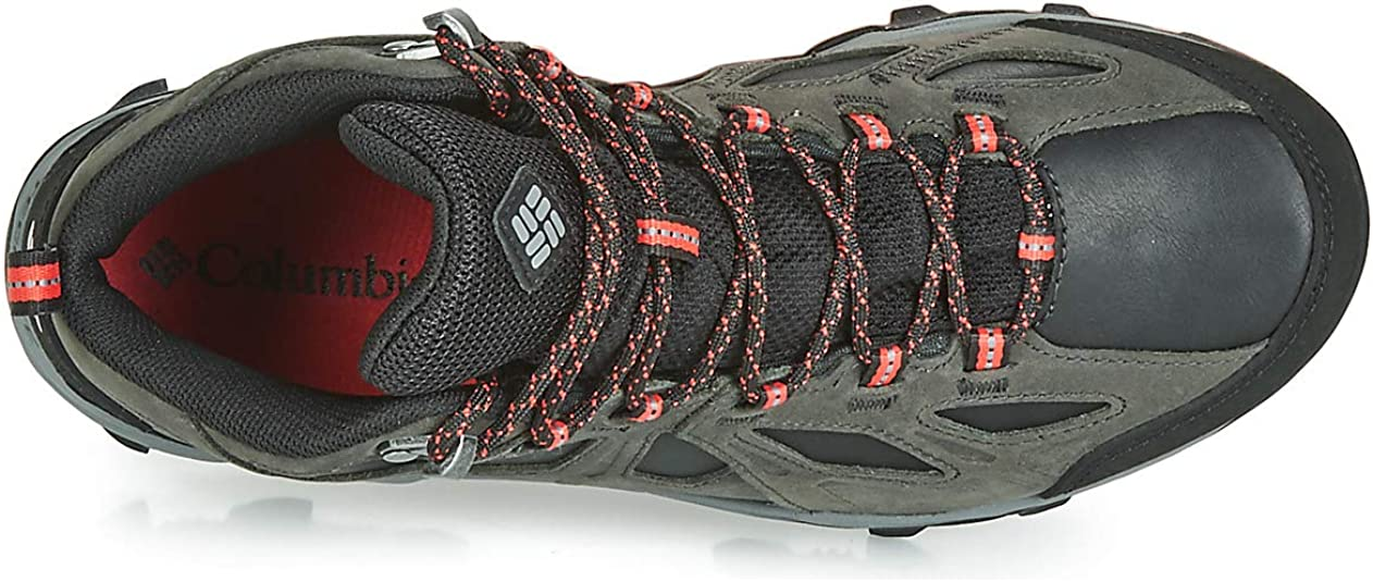 Zapatillas de Senderismo Columbia Lincoln Pass/™ Mid LTR Outdry/™ Impermeable para Mujer