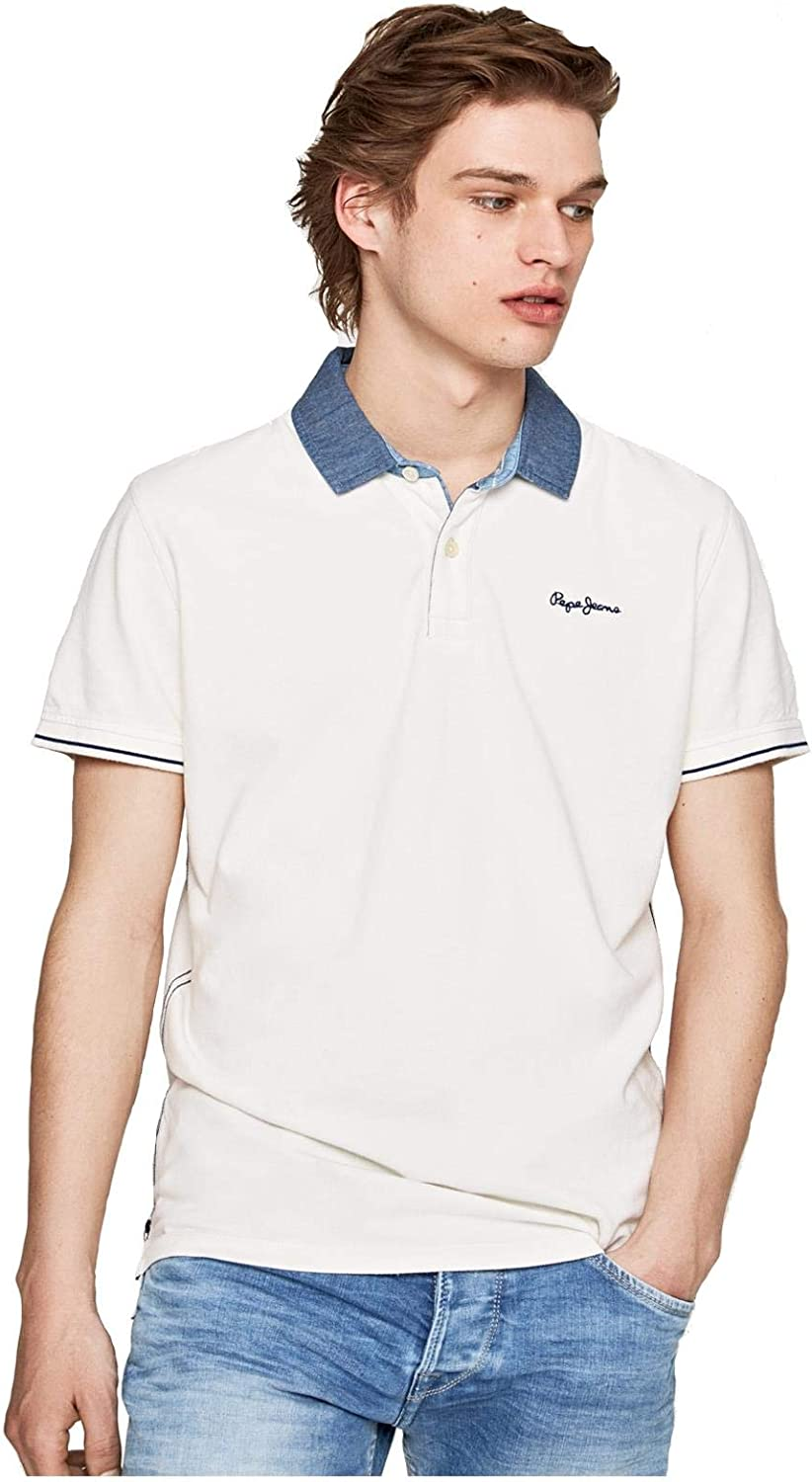 Pepe Jeans - Polo Morris Hombre Color: 933 Grey Marl Talla: Large ...