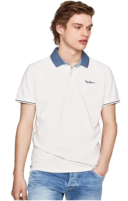 Pepe Jeans - Polo Morris Hombre Color: 933 Grey Marl Talla: Large ...