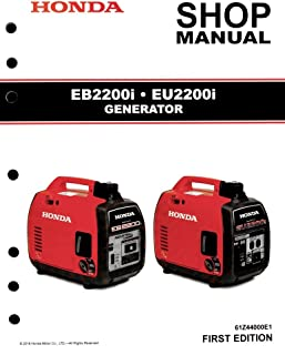 amazon com honda eb3000 generator service repair shop manual rh amazon com Honda EB5000 Honda EB3000 Specs