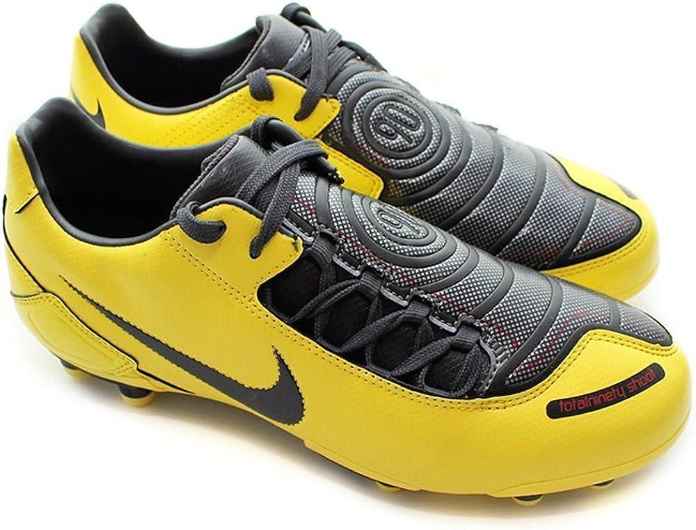 Nike - Total 90 Shoot - Color: Amarillo-Negro - Size: 38.5: Amazon.es: Zapatos y complementos
