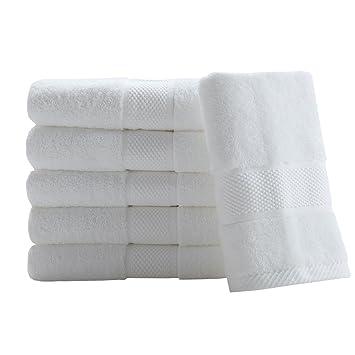 SUMC Toallas de mano toallas de toallitas 600GSM de 6 piezas Toallitas de cara Altamente absorbente máquina lavable Toalla de mano Set para el hogar y el ...