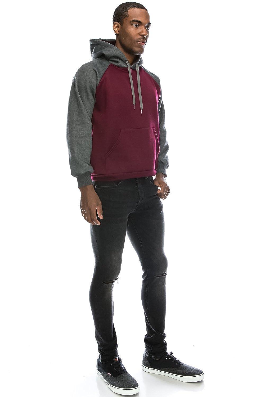 1db74cc35ce JC DISTRO Hipster Hip Hop Raglan Sleeve Basic Active Causal Pullover Hoodie  Sweatshirts larger image