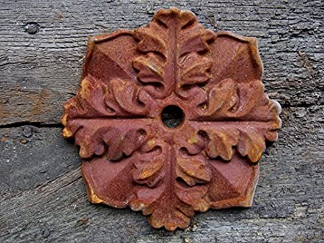 Pfettenanker Wandanker antik Blüte Wand Ornament Maueranker Sparrenanker