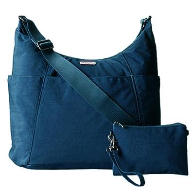 Amazon.com  Baggallini Hobo Tote Handbag Functional Pockets Crossbody  (Pacific)  Shoes c34016b0cb748