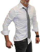 Chemise manches longues unie Coupe slim fit Homme