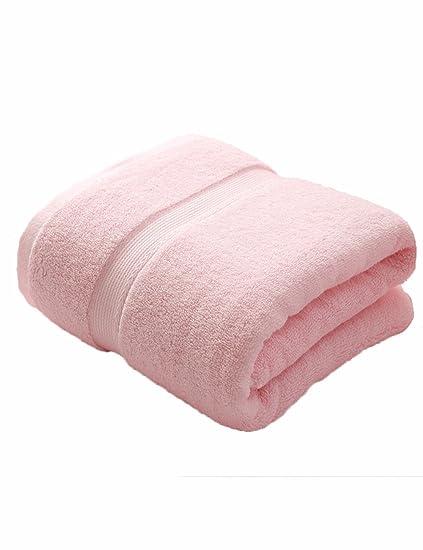 Toalla de algodón Simple Absorbente Toallas Suaves Grandes 140 * 70cm Niños Adultos de otoño y