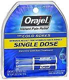 Orajel Single Dose Cold Sore Treatment, 0.04 Oz, 2 Count