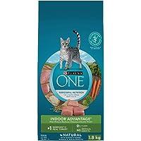 Purina ONE Indoor Natural Dry Cat Food; Turkey Formula - 1.8 kg Bag