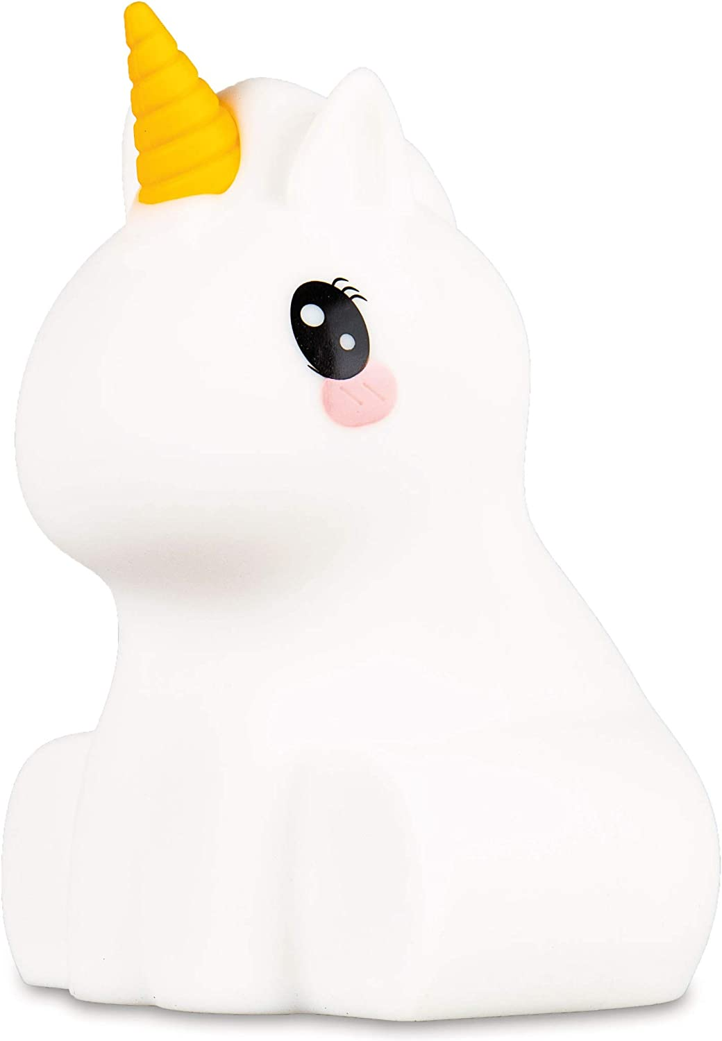 Lumipets Unicorn Night Light for Kids Cute Silicone LED Animal Baby Nursery Nightlight Which Changes Color by Tap - Portable and Rechargeable Gift Lamps for Toddler and Kids Bedroom