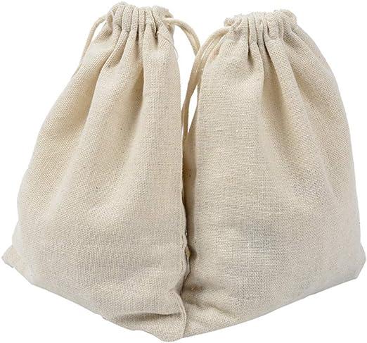Bolsas con cordón de algodón de 50 Piezas, Bolsas de joyería de ...