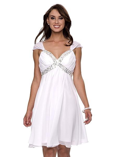 Vestidos blancos talla 48