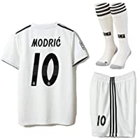 Saint George Real Madrid 2018-2019 Season Modric #10 Home Kids/Youths Soccer