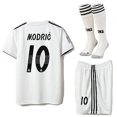 1379ad8c9 Saint George Real Madrid 2018-2019 Season Modric #10 Home Kids/Youths Soccer