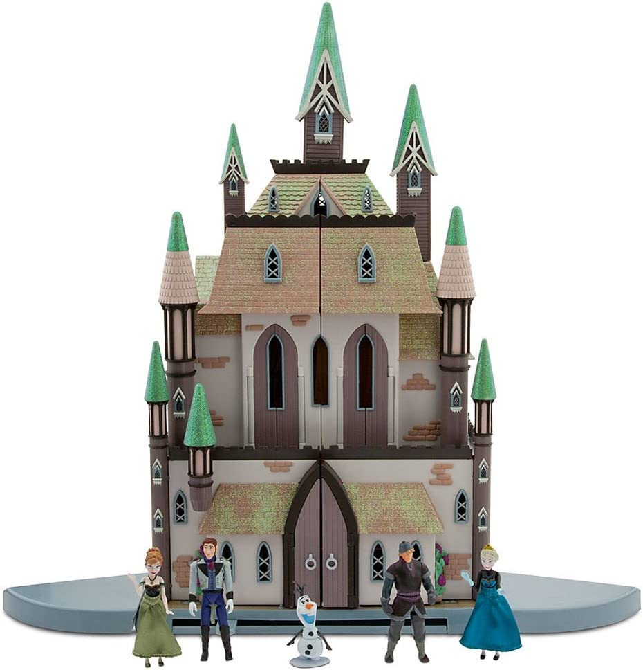 DISNEY STORE FROZEN CASTLE of ARENDELLE PlaySet PALACE ANNA ELSA HANS OLAF NEW