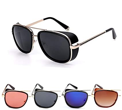 2a89f9742 50 Shades Unisex Metal Sunglasses- (IMBR806,53,Black): Amazon.in ...