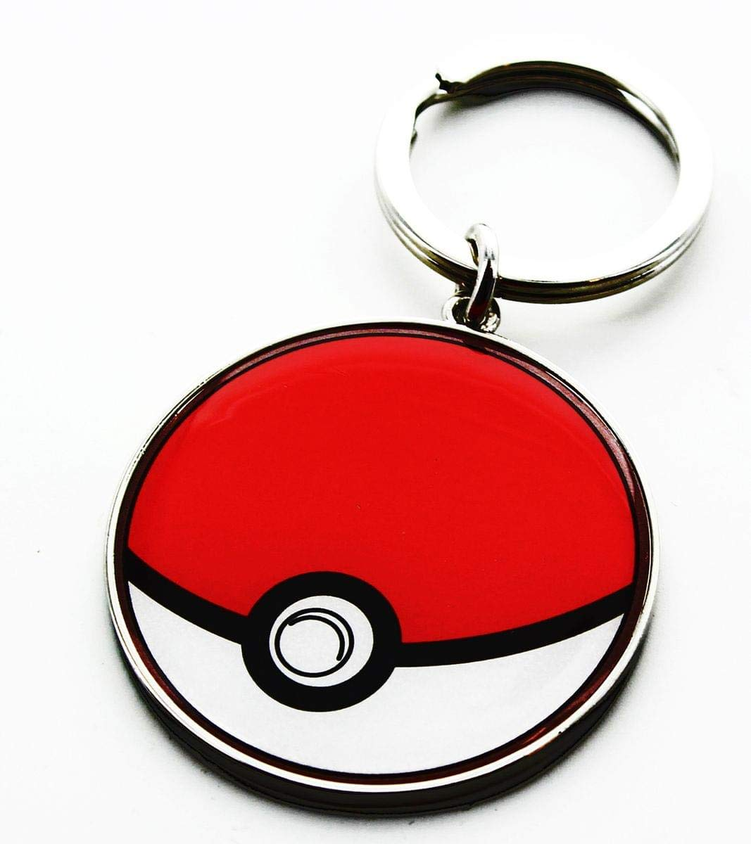 Pokemon Pokeball Metal Key Chain: Amazon.es: Hogar