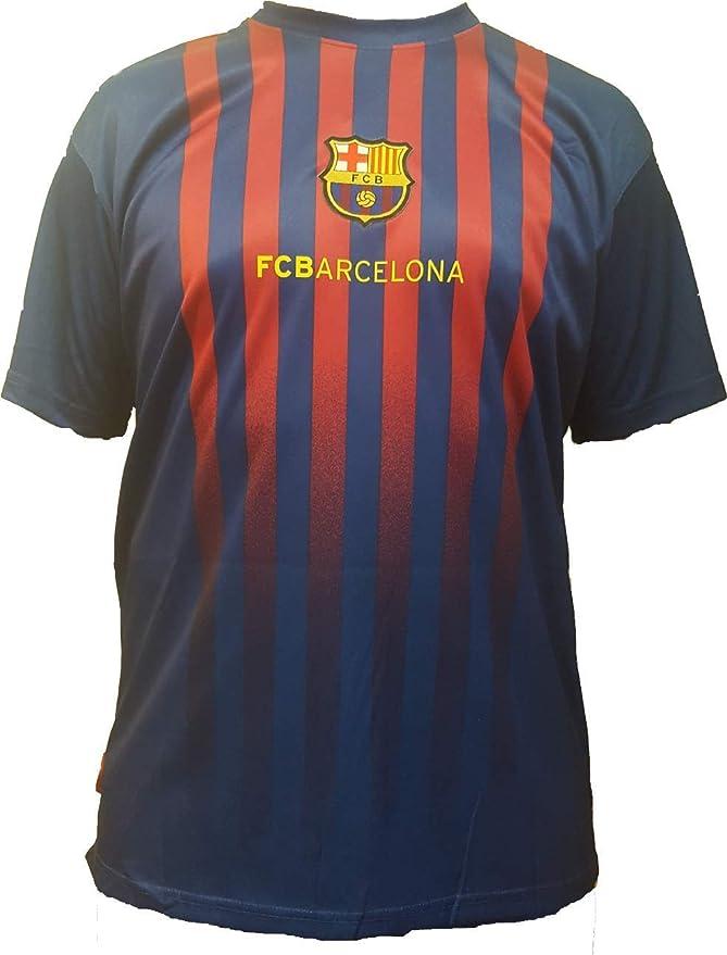 fd9b8cc24bc5d ... Deportes y aire libre. Camiseta de Fútbol Lionel Leo Messi 10 Barcelona  Barça Home Temporada 2018-2019 Replica Oficial