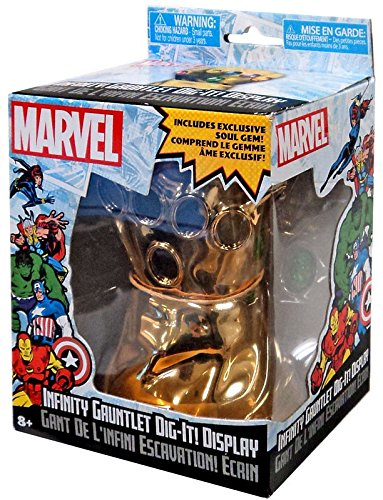 Infinity Gauntlet Dig-it Display Marvel Soul Gem Thanos (Infinity Gauntlet Gems)