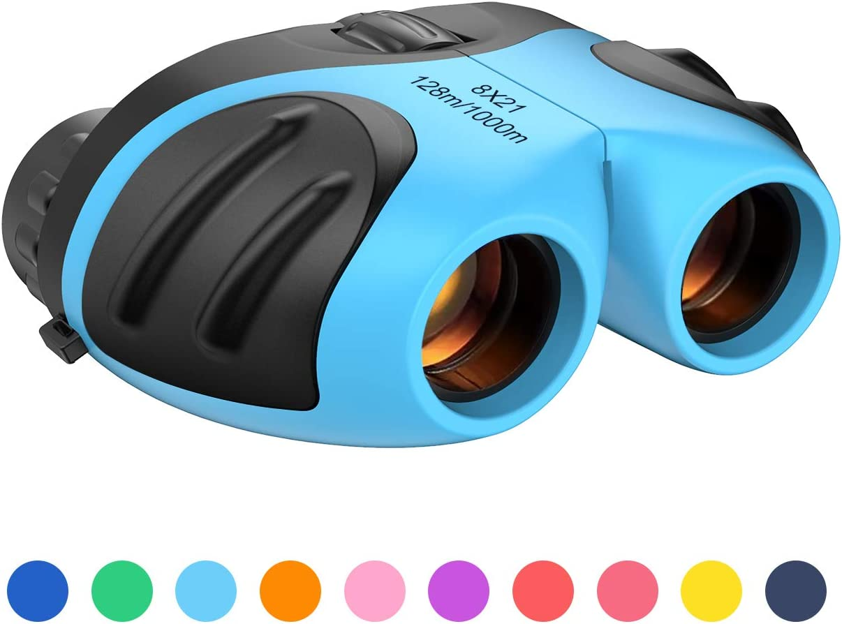 Dreamingbox High Resolution 8x21 Binoculars for Kids -Best Gifts