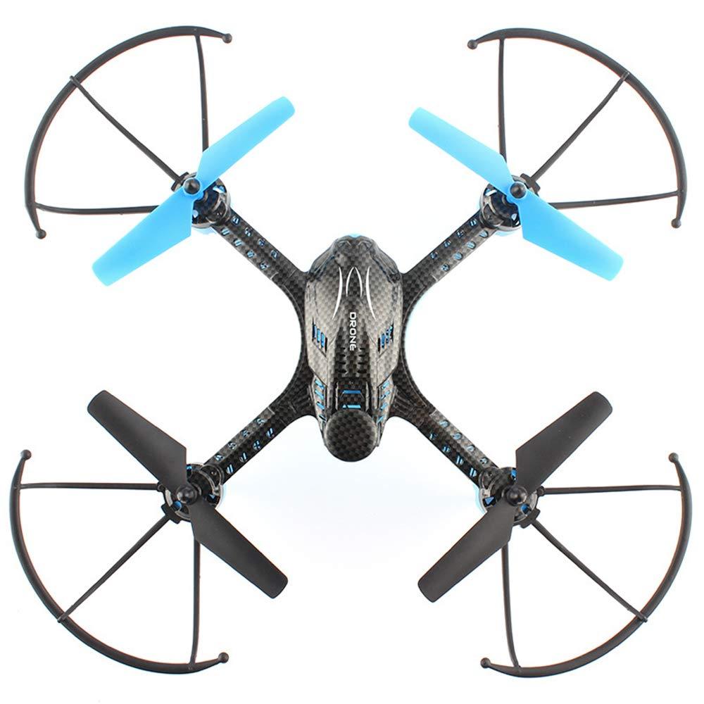 QKa Drone telecomandato, Ricarica Anti-Caduta Intelligente velivoli ad Altezza Fissa con Telecomando A decollo da Terra Quadcopter Bambini Drone
