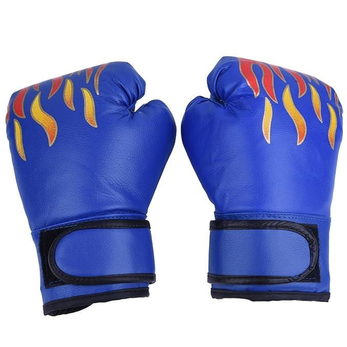 Kinder Boxhandschuhe PU Muay Thai Sparring Trainingshandschuh Kickboxhandschuhe für 7-13 Jahre