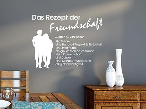 Adesivo da parete per cucina sala da pranzo ricetta di amicizia con