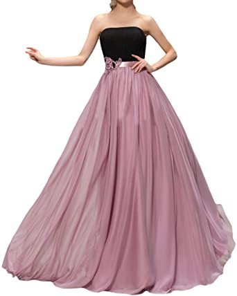Ivyd RESSING Womens Floral Bracket Los A-Line Prom Dress Ball Gown Evening Dress -