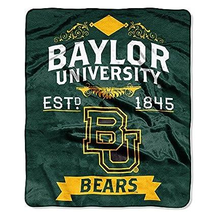 Amazon Northwest NCAA Baylor Bears Label Raschel 40 X 40 Adorable Baylor Throw Blanket