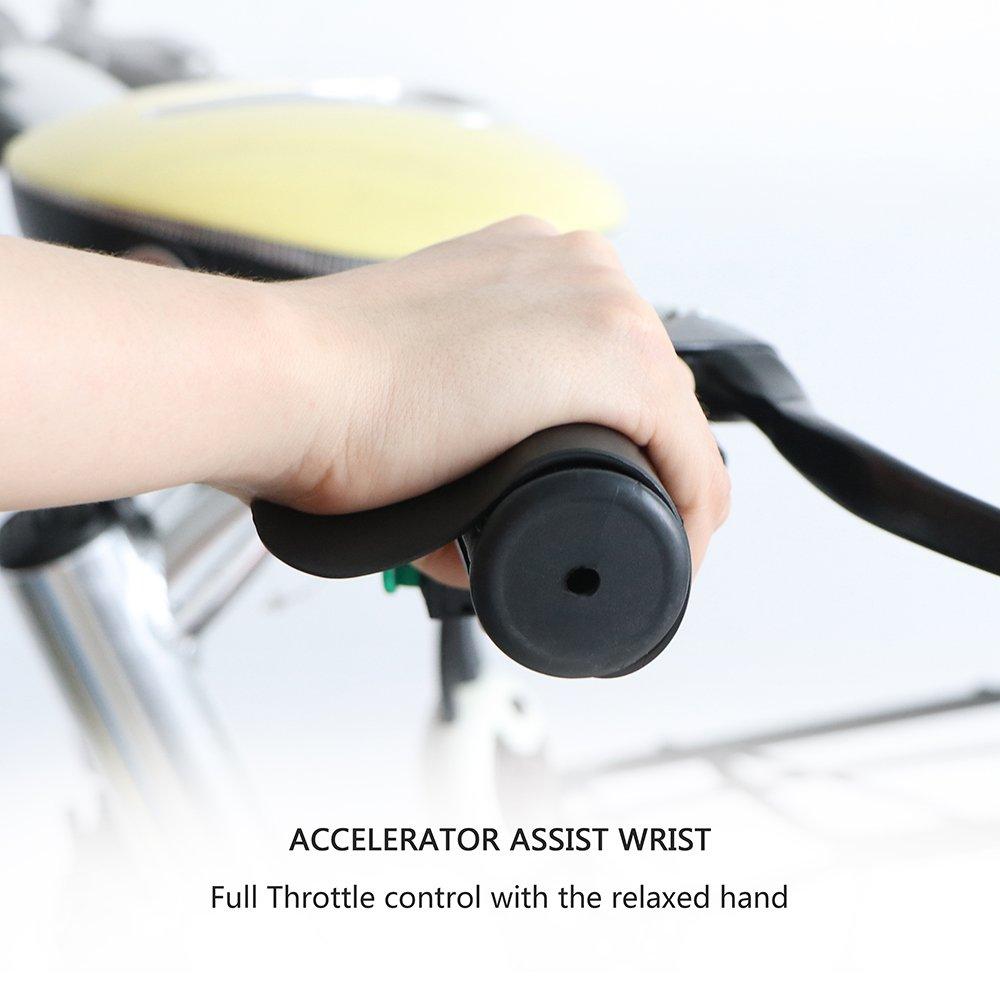 OurLeeme universale moto e Moto-Grip Accelerator Assist polso Cruise Control