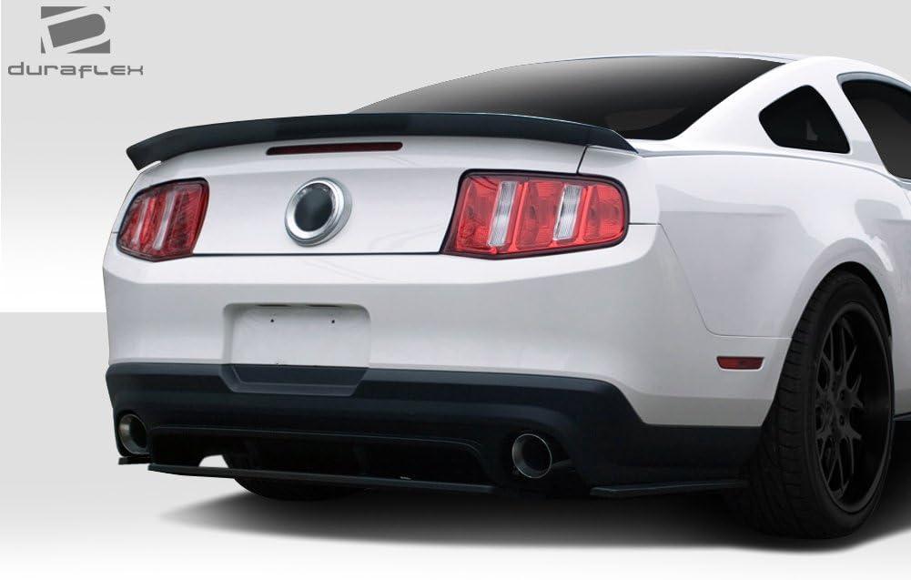 4 Piece Body Kit Brightt Duraflex ED-DOB-475 R500 Rear Diffuser Splitter Compatible With Mustang 2010-2012