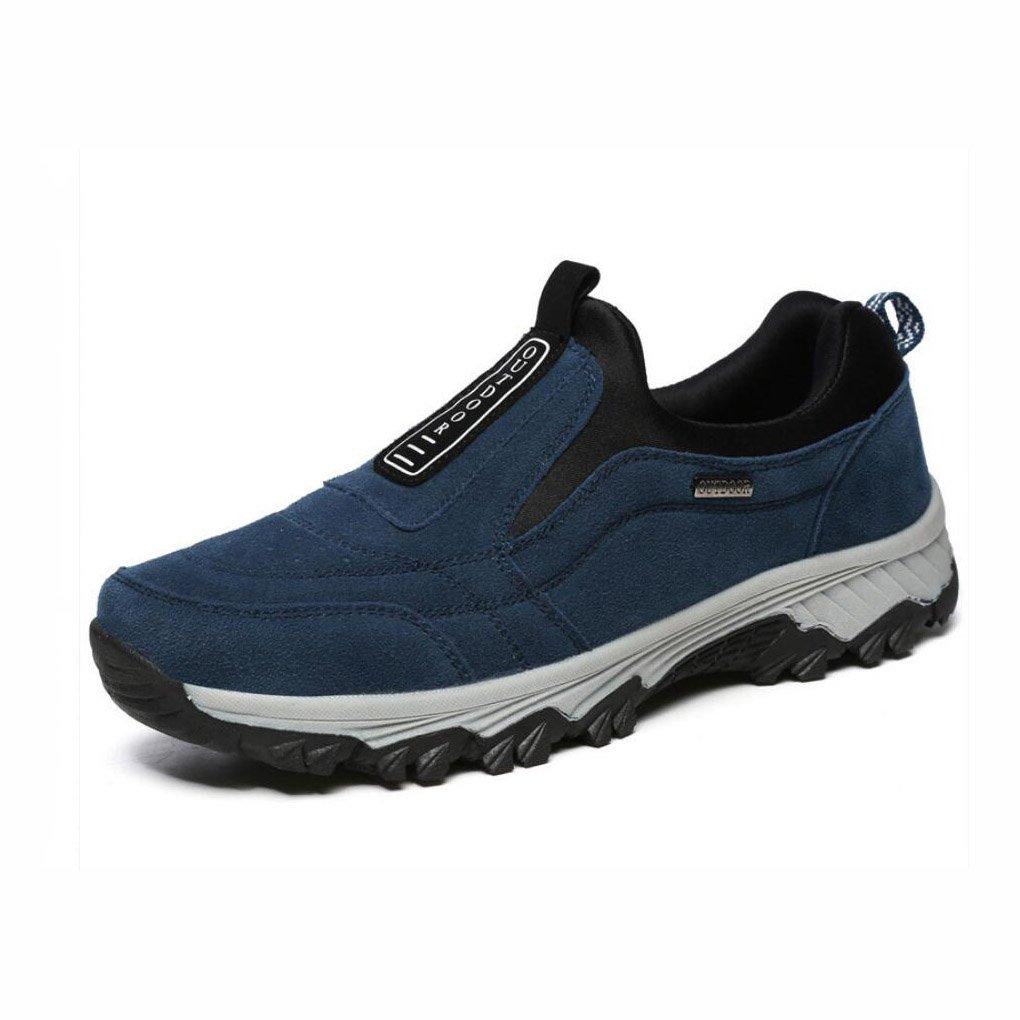 Herren Turnschuhe, 2018 Sommer Neue Herren-Set von Füßen Ein Pedal Faule Schuhe, Outdoor-Mittleren Alters Wanderschuhe, Große Größe Casual Dad Schuhe (Farbe : Ein, Größe : 42)