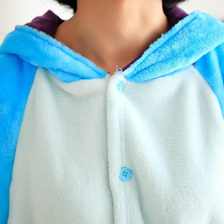 Amazon.com: MissFox Unisex Adult Kigurumi Pajamas Costume Cosplay Homewear Lounge Wear Sullivan: Toys & Games