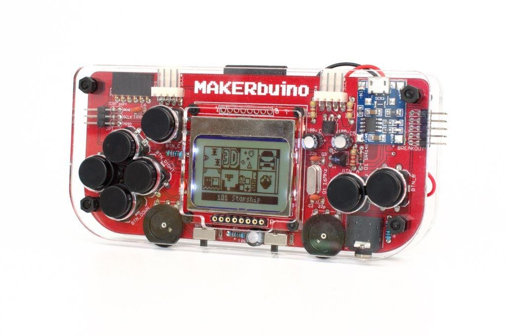 Makerbuino Arduino Gameboy kit