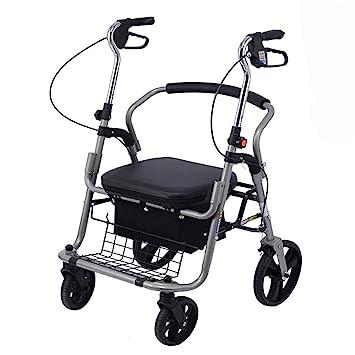H.Slay caminador Adulto Andador de Movilidad con Asiento ...