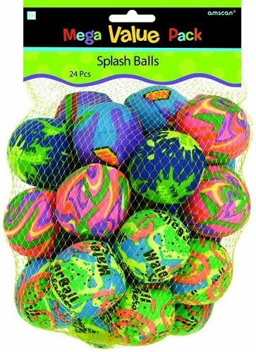 Amscan (392357) Toy-Activity-and-Play-Balls Toy (24 Piece) (Balls 24 Piece)