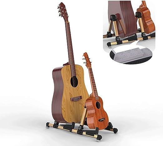 HIIMODER33 Soporte de Guitarra Plegable portátil de Doble de Piso ...