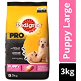 Pedigree PRO Expert Nutrition, Dry Dog Food for Large Breed Puppy (3-18 Months) - 3 kg Pack