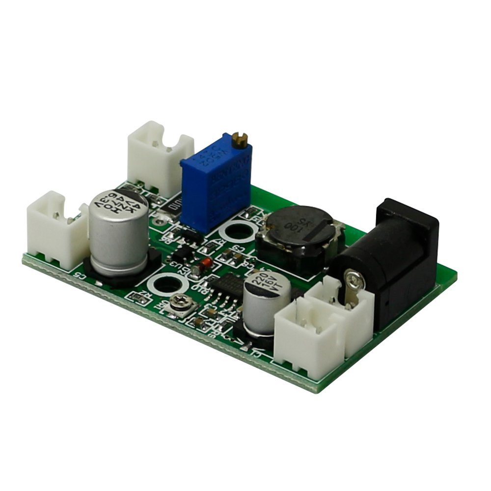 Q-BAIHE 405nm 445nm 450nm 520nm Laser Drive 200mW-3W 12V Driver for RGB Laser with TTL