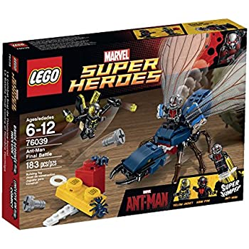 amazon com lego superheroes marvel s ant man 76039 building kit