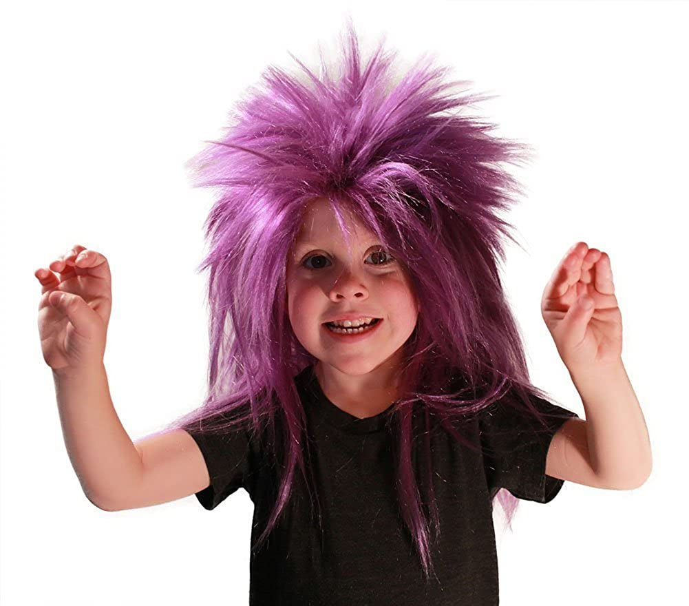 My Costume Wigs Evil Minion Punk Wig (Purple) One Size fits all punkfright