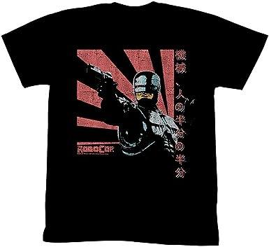 Men/'s Ex Store blue Robocop T Shirts Small