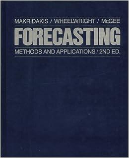 Spyros makridakis forecasting methods and applications pdf download