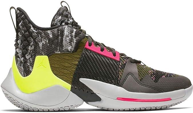 los recién llegados promoción especial más fotos Amazon.com | Nike Jordan Why Not Zer0.2 Basketball Shoes (9, Grey ...