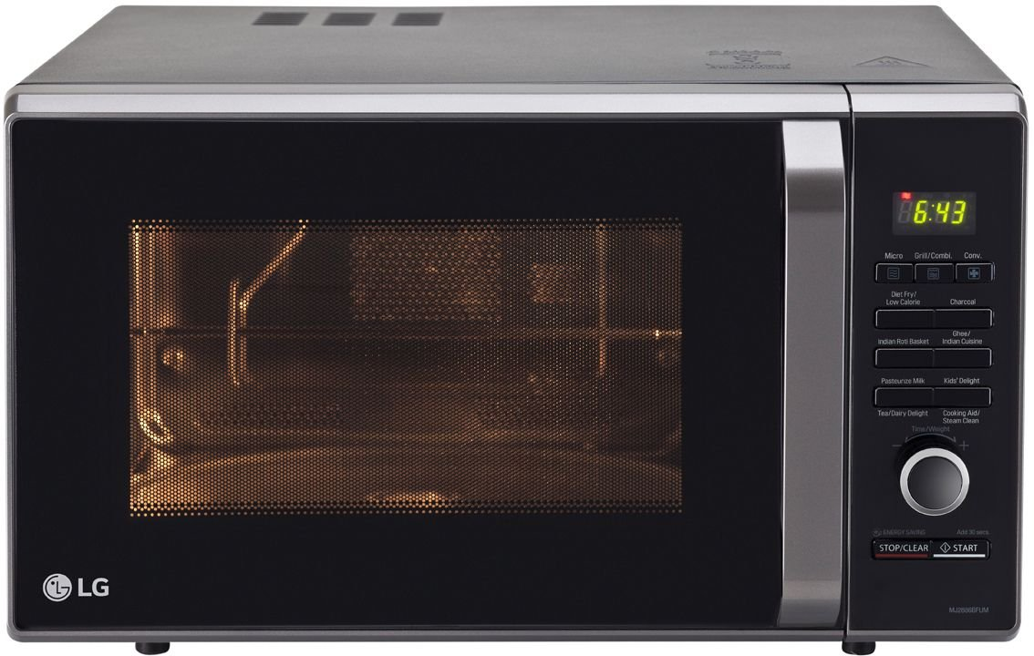LG MJ2886BFUM 28L Convection Microwave Oven
