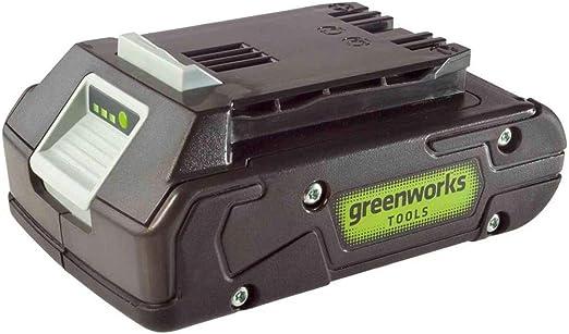 Akku G24B4 2.Generation Li-Ion 24 V 4,0 Ah Akku-Ladeger/ät G24C Li-Ion 24 V 48W Greenworks Akku-Winkelschleifer GD24SAG