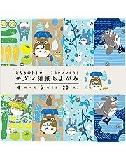 ENSKY Studio Ghibli My Neighbor Totoro Origami zestaw papieru 15 cm wykonany w Japonii (5 wzorów chiyogami lato 15 cm)